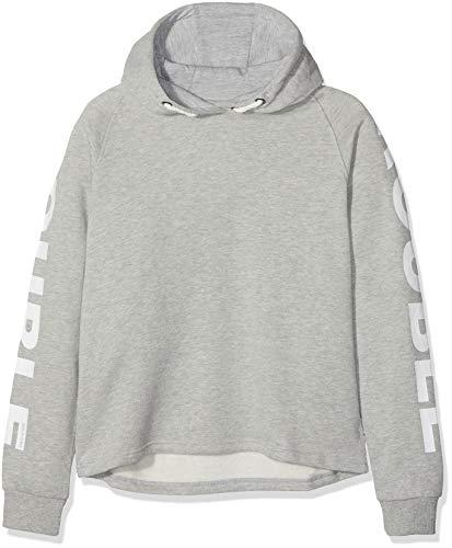Garcia Kids Mädchen Sweatshirt U82463, Grau (Grey Melee 66), 152