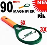 90MM MAGNIFYING GLASS 3X6X -PIA INTERNAT...