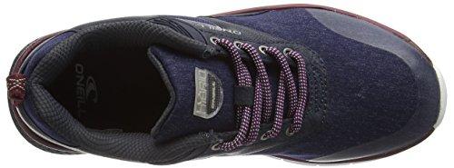 O'Neill Damen Zephyr Lt W SL Sneakers Blue (Denim Melee)