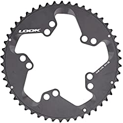 Look Zed 2 - Plato para bicicletas con 50 dientes, color negro, 1 unidad