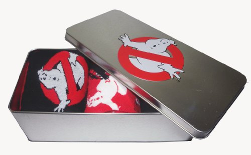 Ghostbusters 1984 Movie Men's Socks in Gift Tin Set