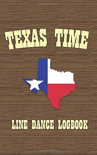 Texas Time: Line Dance Logbook (Pocket Edition) Womens Lady Logger-boot