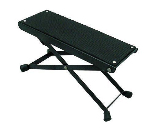 Cherrystone MPM Fußstuhl 6-Stufig Höhenverstellbar für Gitarre schwarz Restaurant Ware