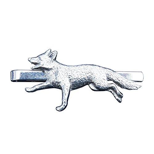 """Krawattennadel \""""Fuchs\"""" aus Zinn (Pewter) von Hand Gegossen"""