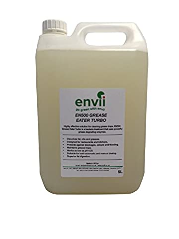 Envii Grease Eater Turbo – Grease Trap Cleaner Enzyme, Degreaser
