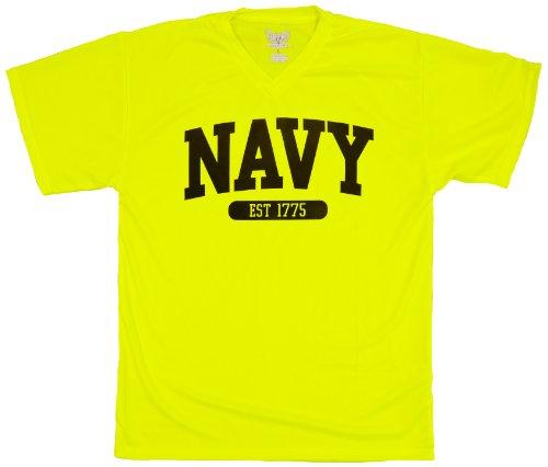 us-azul-marino-de-manga-corta-camiseta-ninos-amarillo-xl