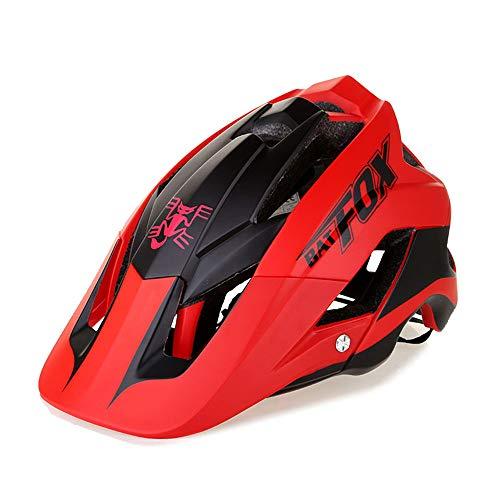 OMGPFR Casco De Bicicleta De Montaña para Adultos, 14 Venteo Absorción Absorción...