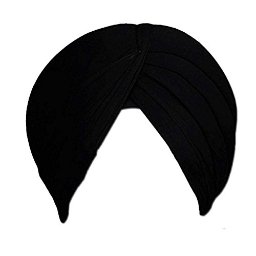 Melaska's Shahi Sikh Traditional Turbans/ Punjabi Hat / Punjabi Pagri /Sikh Full...