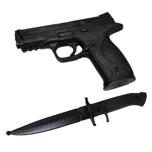 DEPICE ensemble 2 pièces-couteau d'entraînement en plastique dur réaliste sV
