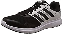 adidas Mens Duramo 77 M Black and White Mesh Running Shoes - 7 UK