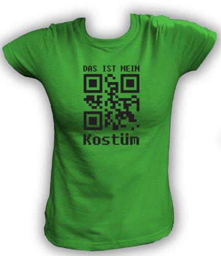 Artdiktat QR Code Karneval Damen T-Shirt - Das ist mein
