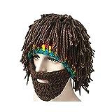 Da.Wa Vagabond Bild Lustige Hüte Wintermütze mit Bart für Weihnachtstag oder Eine Maskerade