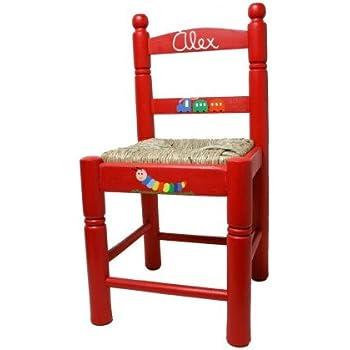 CAL FUSTER Chaise Enfant Avec Ton Prenom