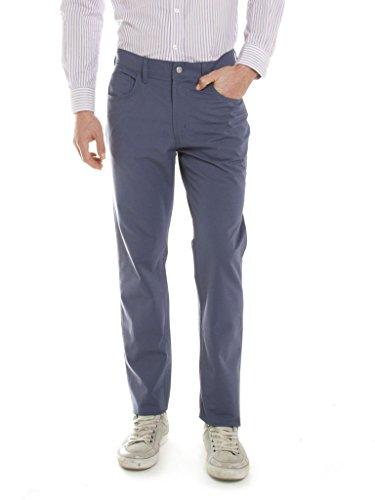 Carrera Jeans - Pantalone 700 7001167A per uomo, tessuto in tela, vestibilità normale, vita regular 673 - Blu