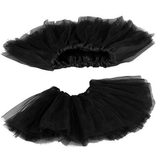 Imagen de tutu/falda de tul negro disfraz bailarina ballet costume alternativa