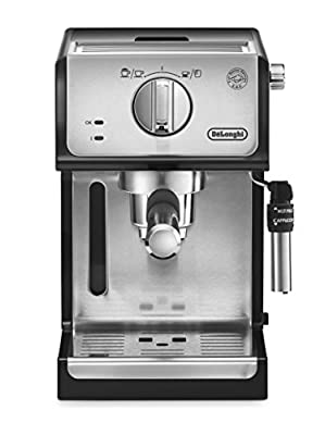 DeLonghi ECP31.21 Italian Traditional Espresso Coffee Maker, Black