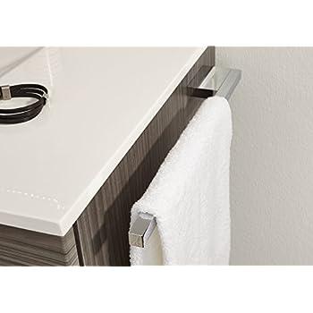 lantelme edelstahl bad handtuch halter reling aus vollmaterial geschliffen 4035. Black Bedroom Furniture Sets. Home Design Ideas