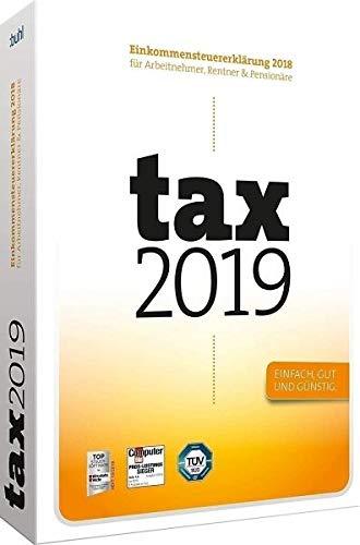 tax 2019 (DVD-Box): Einkommensteuererklärung 2018 für Arbeitnehmer, Rentner & Pensionäre