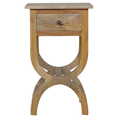 Artisan Möbel 1Schublade, Nachttisch, Holz, Eiche Natur Finish -