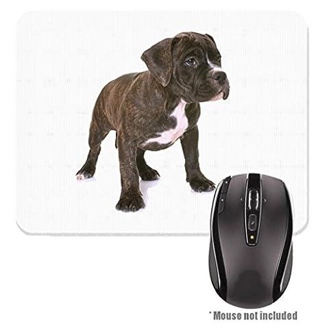 American Staffordshire Terrier Welpe Bild Design Rubber Mauspad