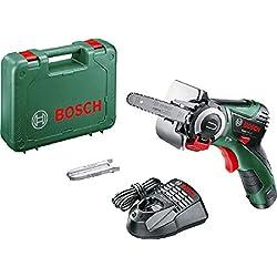 Scie coupe droite sans fil Bosch - Easycut 12 (Livré avec une batterie 12V-2,5Ah et coffret, une lame NanoBlade bois, profondeur de coupe: 65mm)