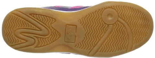 Lico  Indoor V, Chaussures indoor fille Violet - Violett (lila/pink/weiß)