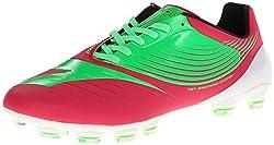 Diadora Soccer DD-NA GLX14 Soccer Cleat,Flourescent Green/Virtual Pink,5 M US