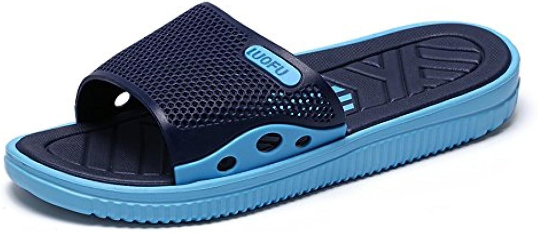 JIUYUE SHOES     Herren Sandalen  Blau   Blau   Größe: 39