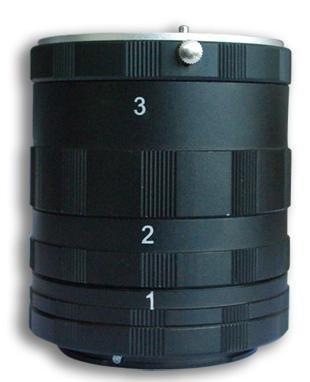 Tubos de extensión para fotografía Macro para Nikon 100% Metal Macro macrofotografía Compatible con Todas Las Montura Nikon D