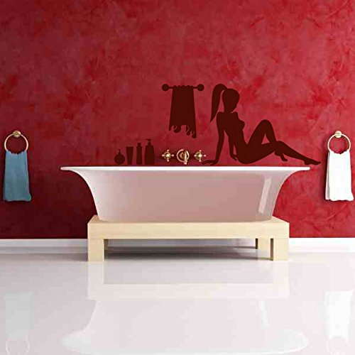 KCWALLDECALS Bath Time Wall Decor_Small