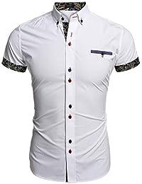 5d8e374c20f91 Amazon.es  camisa blanca manga corta hombre - 1 estrella y más ...