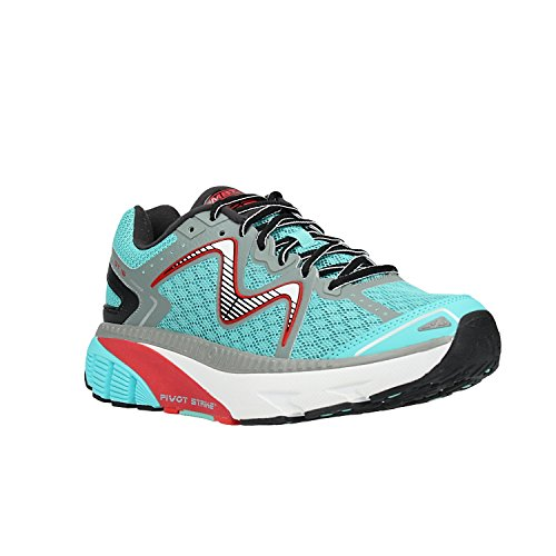 MBT Herren Gt 16 M Laufschuhe, (Teal/Black/Red), 42 EU