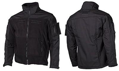 MFH Herren US Combat Fleece Jacke Schwarz von MFH bei Outdoor Shop