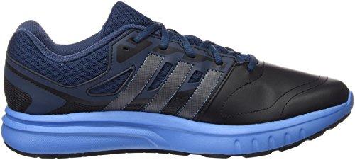 adidas Galaxy Trainer, Chaussures de Football Compétition Homme Multicolore - Negro / Azul (Negbas / Nocmét / Supazu)