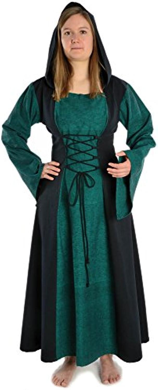 HEMAD Vestito Vestito HEMAD medievale da donna - Cappuccio a330ab05f97