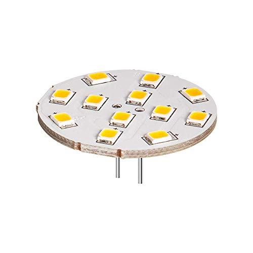 Spot LED Assiettes, 2 W - Culot : G4, remplace 22 W Blanc Froid