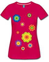 Flower Power Frauen Premium T-Shirt von Spreadshirt