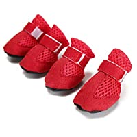 huamaojiancai incredible Anti Slip Pet Dog Puppy Shoes Protective Rain Boots Dog Booties Sock Breathable