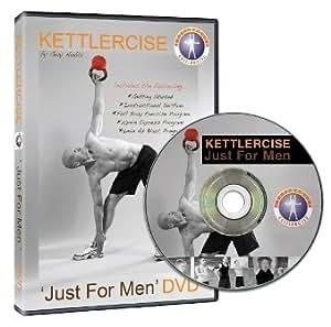 Kettlercise Just for Men DVD - The Ultimate Fat Loss Program
