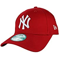 New Era Marque modèle   9Forty-casquette réglable league new york yankees  basic en blanc d7f8f8b87512