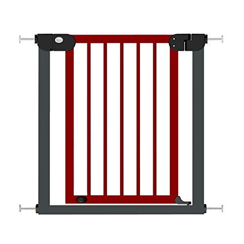 Fairy Baby Holz-Druck, Tür-Gate, für die Sicherheit für Treppen Gate, Reddish Brown und, Schwarz, Metall, 76–153cm
