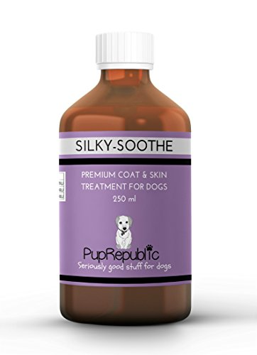 PupRepublic Dogs Itchy Skin Liquid Supplement-Promotes Glossy Coat-Helps Dry Skin-Dog Shedding Treatment-Omega 3-Fish Oil-250ml