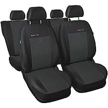 ELEGANCE (E1) (totalmente a medida) - Juego de fundas de asientos a: Audi A4 B7 sedan , kombi - (2004-2008)