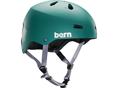 Bern Herren Helm Macon EPS Thin Shell, matt grün, XXL/XXXL, VM2EMGRE2X3X