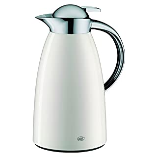 Alfi Signo 1421211100 Insulation Jug - Varnished Stainless Steel - 1 l - Alpine White