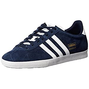 41LhaLy jUL. SS300  - adidas Originals Unisex Adults' Gazelle OG Low-Top Sneakers