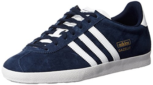 low priced f7a92 383ce adidas Gazelle Og, Mens Trainers, Blue (Dark IndigoRunning WhiteMetallic  Gold), 9 UK - Buy Online in Oman.  Shoes Products in Oman - See Prices, ...