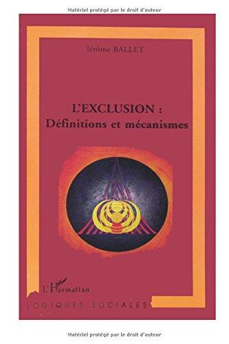 L'exclusion : definitions et mcanismes