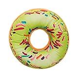 Goosuny Mode Kissenbezug Rund Weich Plüsch Kissen Ausgestopft Pad Simulation Süßer Donut Lebensmittel Abdeckung Fall Spielzeuge Dekokissen Kissenhüllen Sofakissen Zierkissen 40X40 Cm(N,1 PC)