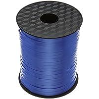500 M Nastro Arricciabile Blu Reale Per Palloncini/Regali